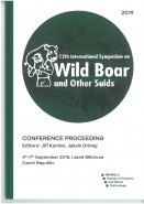 12th International Symposium on Wild Boar and Other Suids