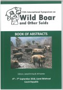 12th International Symposium on Wild Boar and Other Suids, Book of Abstracts